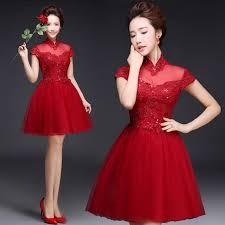 modern dress mandarin collar cap sleeve sequin lace a line wedding party