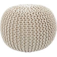 knitted pouf ottoman target storage knitted pouf ottoman target australia crochet pattern free