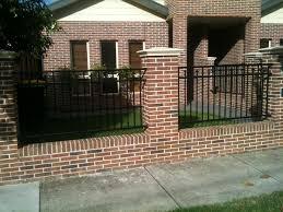 Best 25 Brick fence ideas on Pinterest