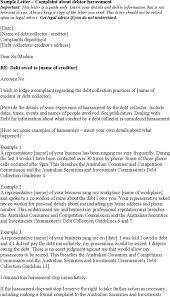 Business Letter Salutation Australia Professional Complaint Letter