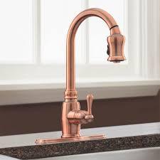 Kitchen Faucets San Diego Copper Kitchen Faucet Spray By Faucets Danze D454557ac Copper