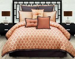 Burnt Orange Comforter King Orange Comforter Set Queen Home Design Ideas