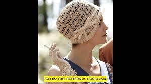 redheart pattern lw2741 crochet hats for men youtube