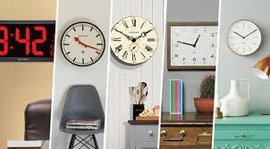 Best Wall Clock Best Wall Clocks Retro Vintage Copper Wooden And Digital Wall