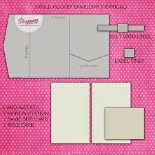 Pocket Envelopes Envelopes For Invitations Wedding Invitations
