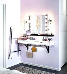 makeup vanities with lighted mirrors elegant lighted makeup vanity