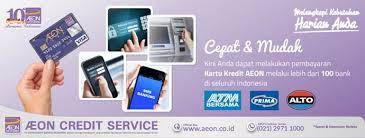 bca aeon aeon card payment through atm bersama prima alto aeon credit service