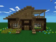 How To Build A Horse Barn In Minecraft My Greenhouse From The Outside The Lights Come On At Dusk And Off