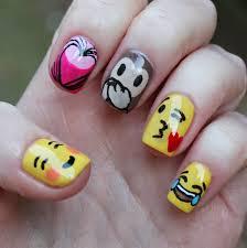 nail art designs emojis cute emoji emotional design nail art
