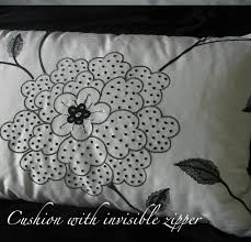 How To Make A Cushion With Zip Meggipeg How To Make Cushions Pillows With An Invisible Zip