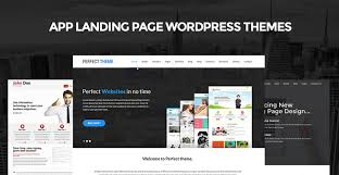 app landing page wordpress themes for product apps software skt