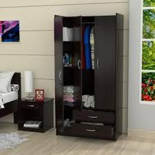 Wardrobe With Shelves by Armoires U0026 Wardrobes You U0027ll Love Wayfair