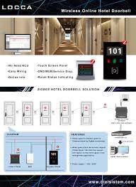 hotel doorbell dnd mur system