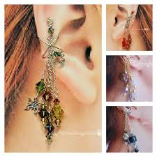 earrings cuffs the jewelry trend learn how to make ear cuffs