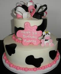 Rebel Flag Wedding Cakes Sweet T U0027s Cake Design Cow And Pink Black U0026 White Ribbon 3rd