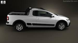 vw saveiro 360 view of volkswagen saveiro cross 2012 3d model hum3d store