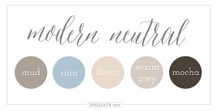 modern colour schemes color palettes dinosaur stew