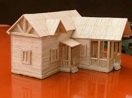 toothpick house talented nigerian toothpick artist by the name adeoye adetunji