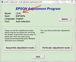 resetter epson l120 esp how to run the software to reset epson printing pads en rellenado