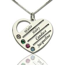 mothers necklace with names personalized s jewelry