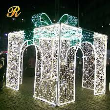 christmas present light boxes outdoor christmas gift box lights outdoor christmas