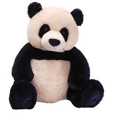 amazon com gund zi bo panda teddy bear stuffed animal toy toys