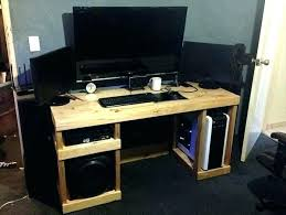 How To Build A Small Computer Desk Diy Computer Desks Computer Desk Designs Corner Computer Desk