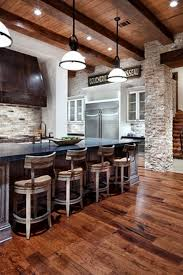 Galley Kitchens With Breakfast Bar Kitchen Rustic Kitchen Green High Ceiling Galley Kitchen Island
