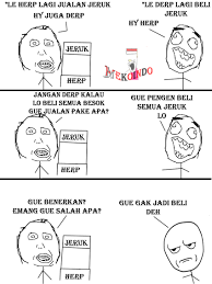 Meme Rage Indonesia - herp again meme rage comic indonesia