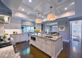 Ideas For Bamboo Floor L Design Kitchen Beautiful Modern Kitchen Ideas With White Kitchen Island