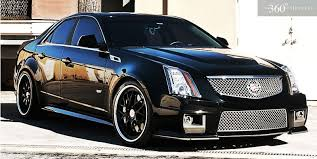 custom black light sts i need this cadillac cts v tricked out custom 360 forged wheels