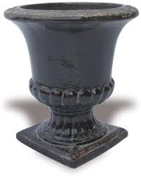 Urn Planters With Pedestal Campania International Fairfield Round Urn Planter With Pedestal