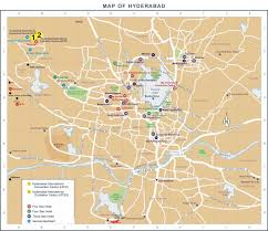 Hyderabad India Map by Hyderabad Hotel Map Hyderabad U2022 Mappery