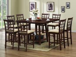 Pub Table Set Studio Katelyn Modern Pub Table Set U2013 7 Piece Modern Dining Set