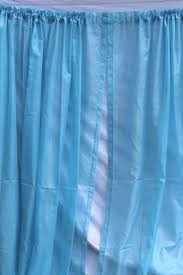 frozen blue sheer curtains 60s 70s vintage drapes voile drapery