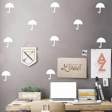 online shop umbrella tiny repeatable wall pattern decal wall