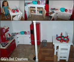 18 inch doll kitchen furniture gigi s doll and craft creations american doll kitchen and