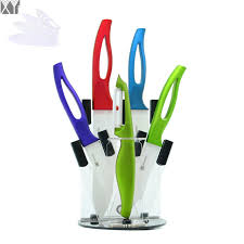 best selling kitchen knives xyj brand eco acrylic kitchen knife stand high grade