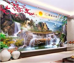 Mountain Mural Wall Art Wallpaper Compare Prices On Kids Room Mountain Online Shopping Buy Low