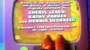 Opening Closing To Barney U0026 by Closing To Barney U0026 Friends The Complete Fifth Season Tape 2