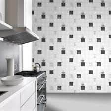 Restaurant Style Kitchen Faucet by Kitchen Style Black Rasch Tile Pattern Café Coffee Cake