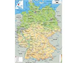 Karlsruhe Germany Map by Maps Of Germany Detailed Map Of Germany In English Tourist Map