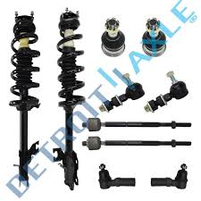 nissan sentra lowering springs new 10 pc complete front suspension kit for 2002 2006 nissan