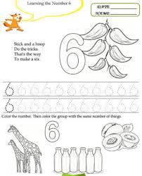 free printable kindergarten worksheets preschool kids maths best