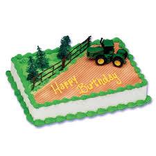 deere tractor cake decorating
