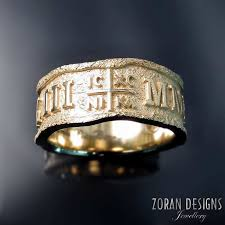 wedding bands toronto unique men s wedding ring with orthodox cross by toronto