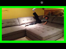 Huge Sofa Bed by Huge Couch Youtube