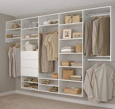 Shelving For Closets by Melamine Storage Systems Melamine Shelving Closet Classics Inc