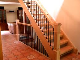 Contemporary Stair Parts by Furniture Delightful Wood Railing Designs Fresh Design Staircase