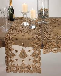 gold lace table runner bedroom dresser runners ideas with dark gold lace table runner on in